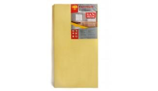Insulated laminate underlays/parquet underlays ТМ San Deсor  2 mm x 1,0 х 0,5 (8м2) yellow