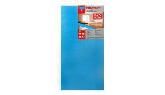 Insulated laminate underlays/parquet underlays TM San Decor 5 mm x 1.0 x 0.5 (4m2) blue